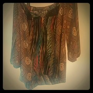 New Directions Boho Top.